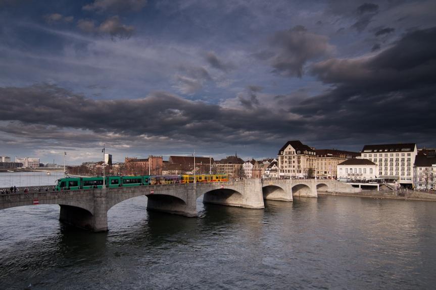 Bridge & Tram