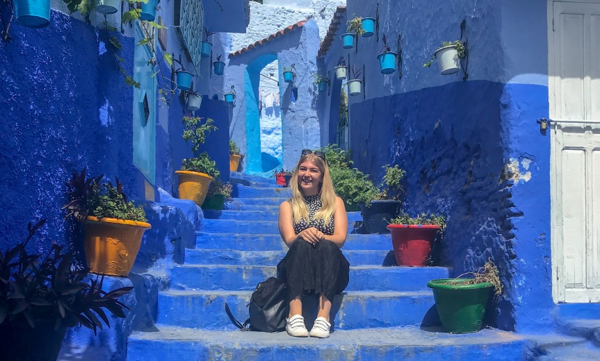 MOROCCO: Fes, Chefchaouen, and accidentally getting naked at a hammam