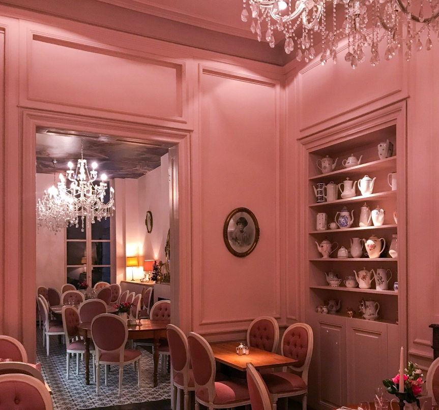The fairytale Ghent tea room of dreams